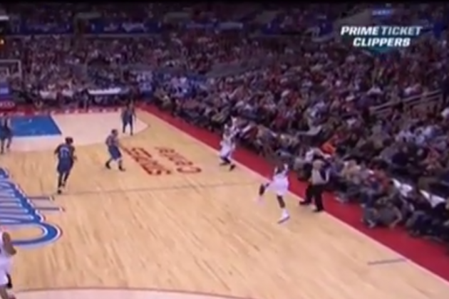 Watch Jamal Crawford Sink a 51-Foot Three-Pointer to Beat the Buzzer