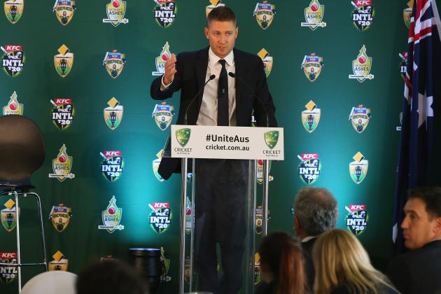 Michael Clarke Arrogantly Names England Ashes Team Before Official Announcement