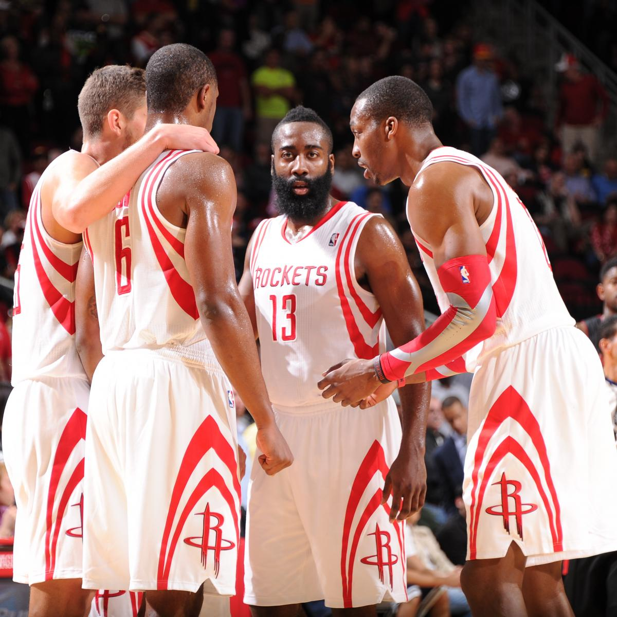 Houston Rockets Game Log: Week 2 Report Card Grades For Every Houston Rockets Player