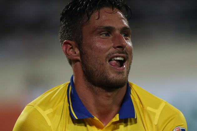 Olivier Giroud May Be Suffering Fatigue as Arsenal Reportedly Eye Karim Benzema