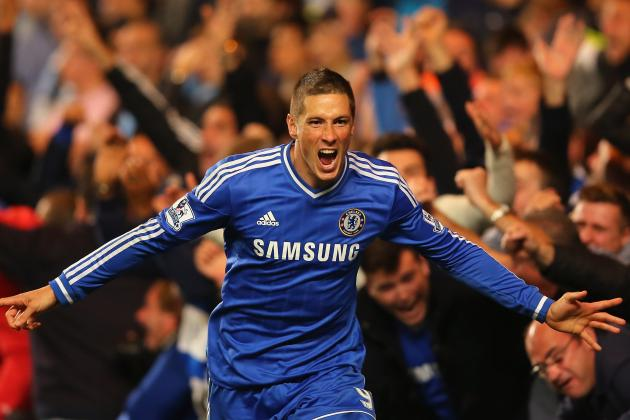The Rise, Fall and Rise Again of Chelsea's Fernando Torres in GIFs