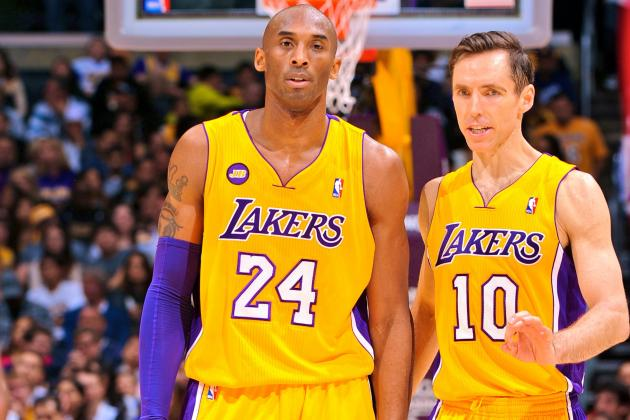 Will Steve Nash's Struggles Be Preview of Things to Come for Kobe Bryant?