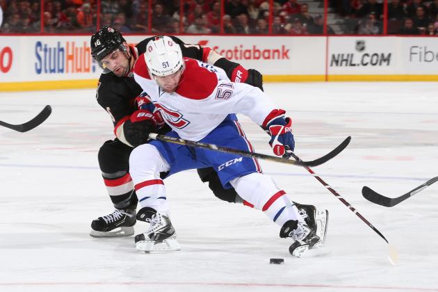 Habs Make Desharnais a Healthy Scratch…Again
