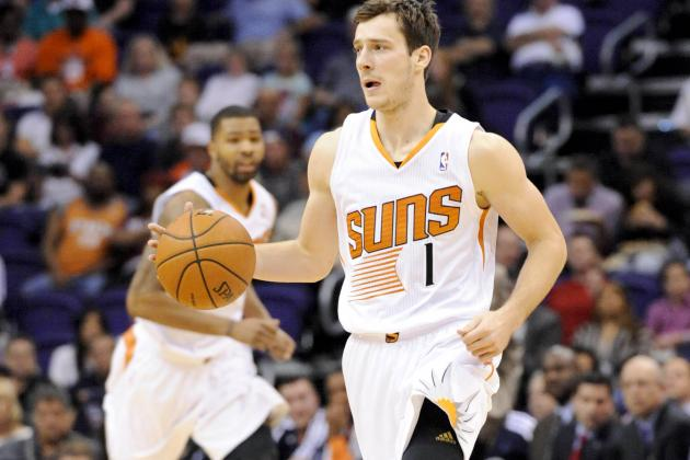 Suns' Goran Dragic Misses Practice to Be with Wife