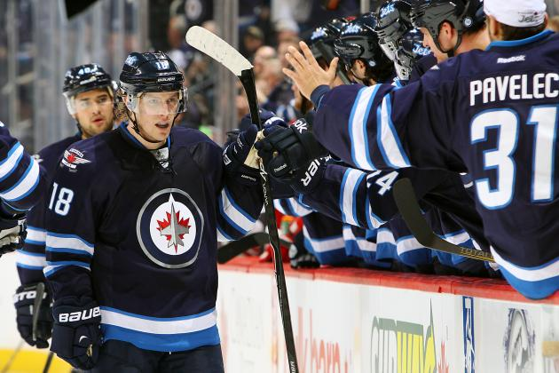 Winnipeg Jets' Bryan Little Earning Every Penny of New Contract