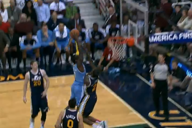 Twitter Reacts to J.J. Hickson Posterizing Marvin Williams