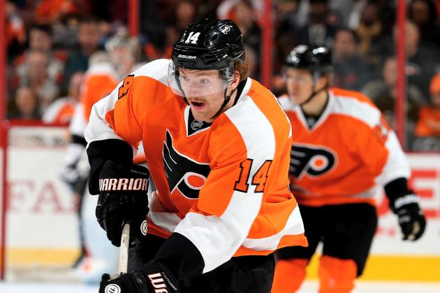 Flyers Notes: Couturier Proud of Defensive Game