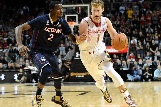 Even in Season-Opening Loss, Terps Forward Evan Smotrycz Happy to Be Back