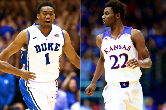 Who Will Be NCAA Basketball's King This Year: Andrew Wiggins or Jabari Parker?