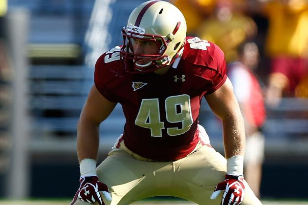 Boston College's Steele Divitto Earns ACC Co-Linebacker of the Week Honors