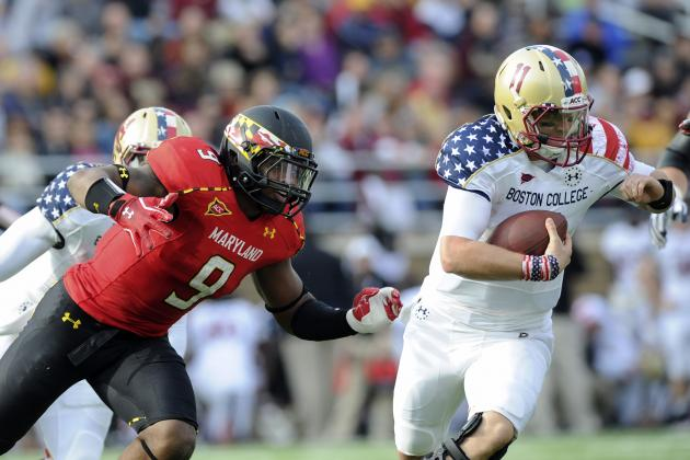 Boston College Vs. Maryland Game Time & TV Information Announced