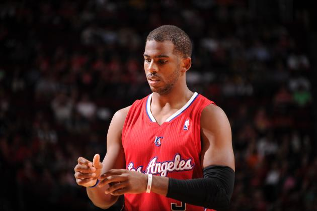 Chris Paul Receives His First Flop Warning of the 2013-14 NBA Season