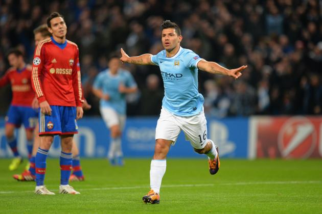 Analysis of Sergio Aguero's Manchester City Role This Season