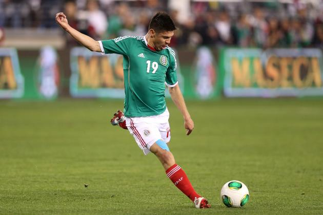 Mexico vs. New Zealand 2013: Top Players to Watch in World Cup Qualifying Match