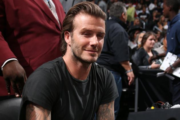 David Beckham Supports Appeal by UNICEF for Typhoon Haiyan Victims
