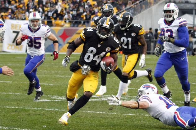 Breaking Down Antonio Brown's Breakout Campaign in Pittsburgh