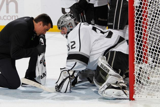Jonathan Quick Injury: Updates on Kings Goalie's Status, Likely Return Date