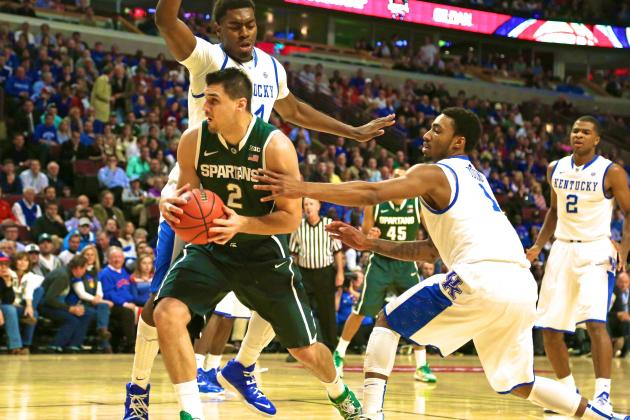 Michigan State vs. Kentucky: Score, Grades and Recap from 2013 Champions Classic