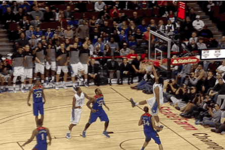 Duke Freshman Phenom Jabari Parker Throws Down Sick Dunk off Alley-Oop