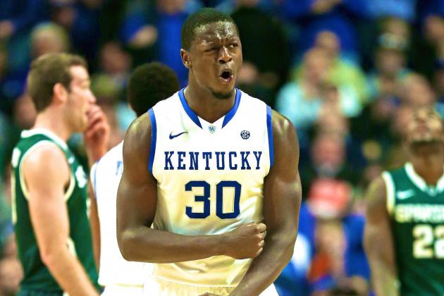 Young Kentucky's Growing Pains, Potential on Display in Loss to Michigan State