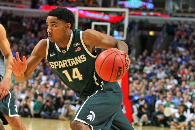 Michigan State vs Kentucky: Spartans Get No. 1 Ranking but Keep Chip on Shoulder