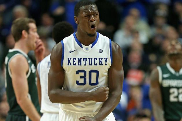 Julius Randle Flashes Signs of Brilliance and Rawness in Loss to Michigan State