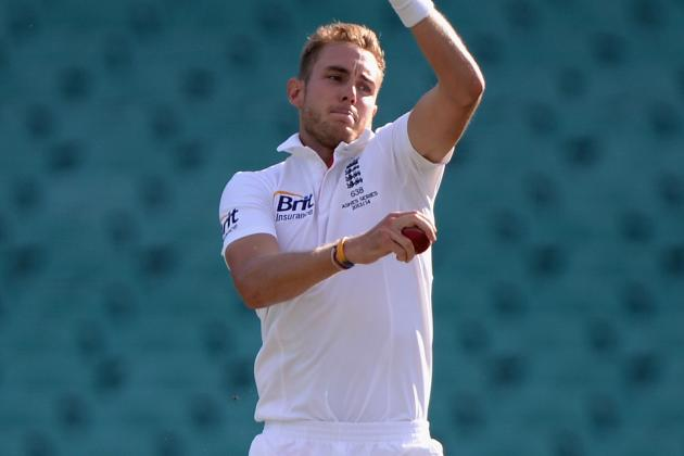 Ashes: Broad Shines Early Before England Stall in Sydney