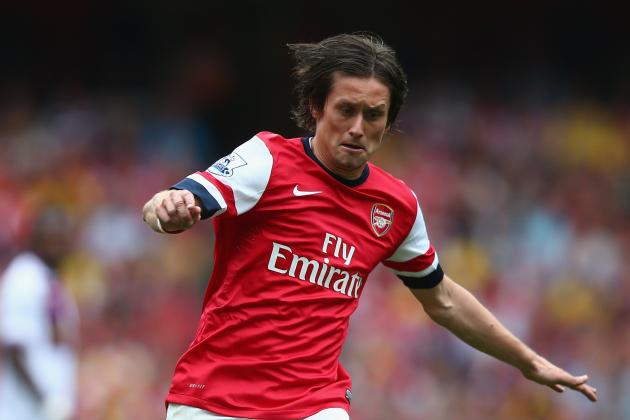 Rosicky to Be Offered New Arsenal Contract If He Reaches 25-Match Mark