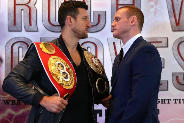 George Groves Mocks 'Terrible Trash Talker' Carl Froch Ahead of Big Fight