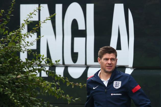 Twitter / BBCSport: Captain Steven Gerrard and ...