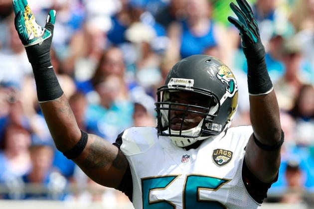 Right Attitude Helped Jaguars Get First Victory, LB Geno Hayes Says