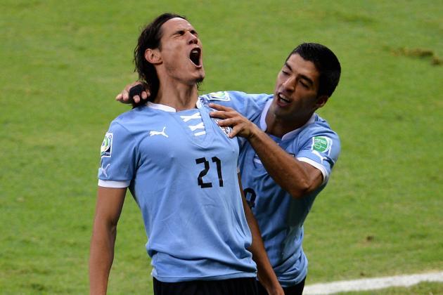 Twitter / bet365: #Uruguay XI v Jordan - Martin ...