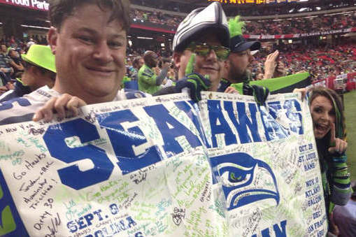 Seahawks 12th Man Increasingly Taking Over Opposing Stadiums