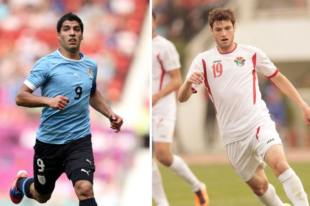 Jordan vs. Uruguay: World Cup Playoff Live Score, Highlights, Recap