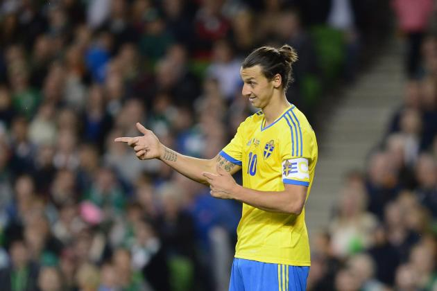Breaking Down Zlatan Ibrahimovic's World Cup Qualifying Campaign