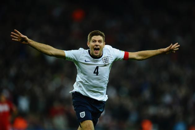Why Steven Gerrard Injury, Withdrawal from England Is Good News for Liverpool