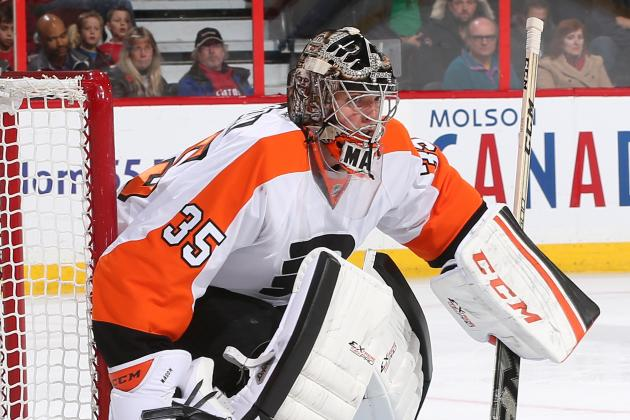 Flyers Finally Reward Steve Mason in Shutout
