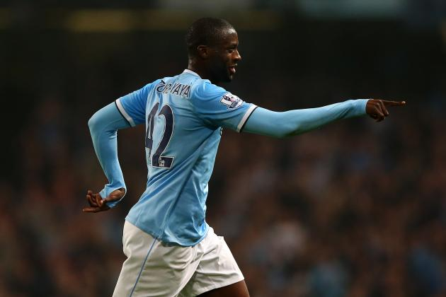 Yaya Toure Denies New Manchester City Exit Rumours, Hits Out at Source