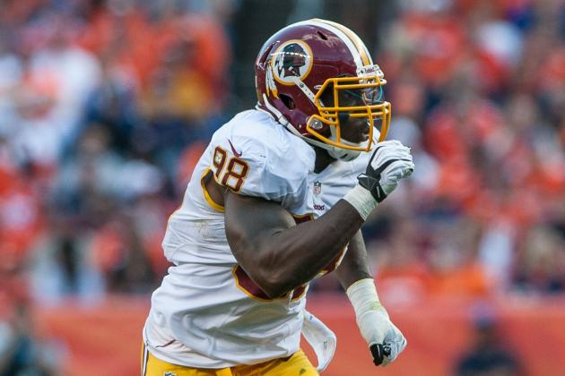 Redskins' Pass Rush Fails Late