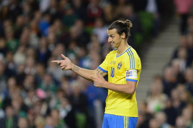 Portugal vs. Sweden: Cristiano Ronaldo, Zlatan Ibrahimovic, Top Stars to Watch