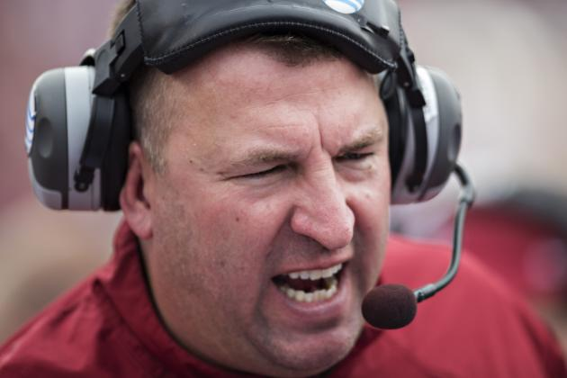 Bret Bielema Defends Team Regarding Racial Slur Allegation