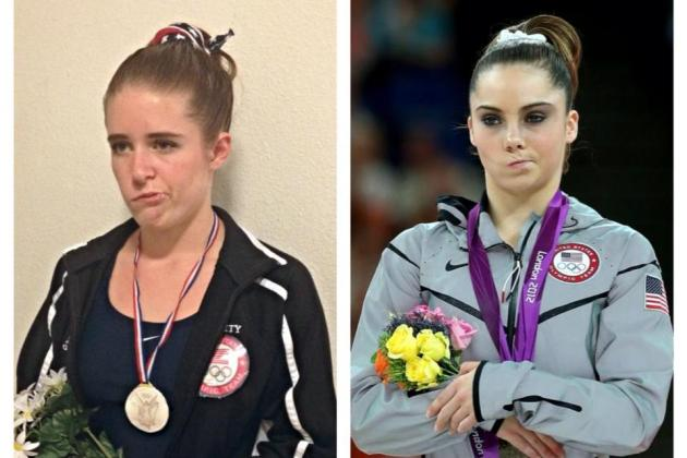 Woman with Bell's Palsy Had a Solid Gold McKayla Maroney Halloween Costume