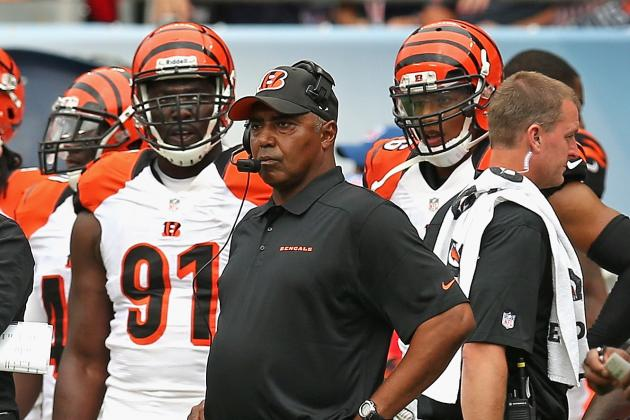 Bengals Head Coach Marvin Lewis Praises Browns Progress