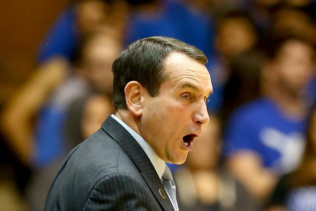 Coach K: 'Shame on Whoever' Tanks in NBA