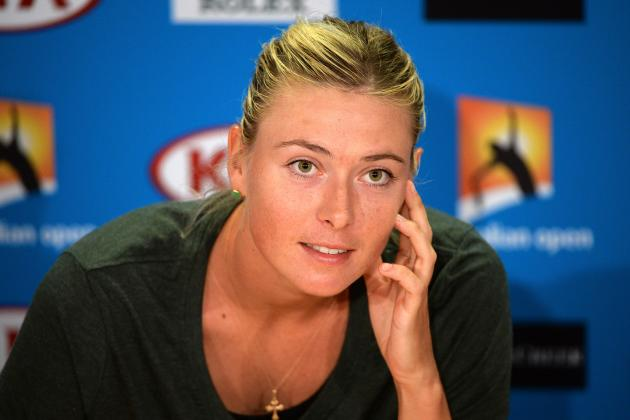 Maria Sharapova to Work as TV Pundit on Winter Olympics in Sochi