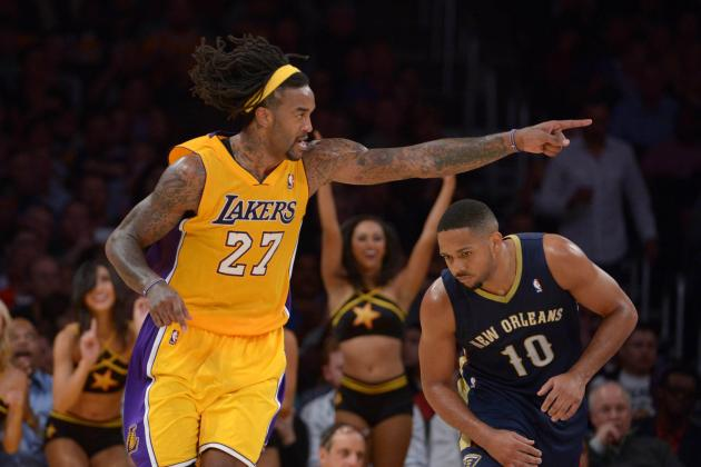 Jordan Hill Is Proving to Be Definitive X-Factor for Los Angeles Lakers