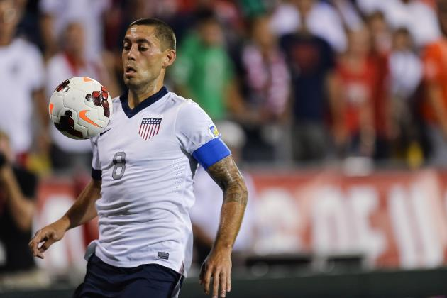 Clint Dempsey Removed from USMNT Roster After Suffering Calf Injury