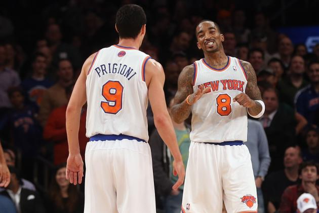 Why Moving JR Smith to Starting Lineup Won't Solve Knicks' Problems