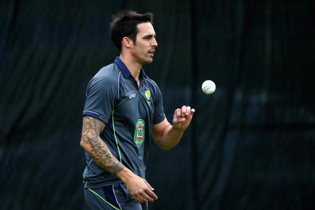 Mitchell Johnson Treads Tightrope with England Threats Ahead of the Ashes