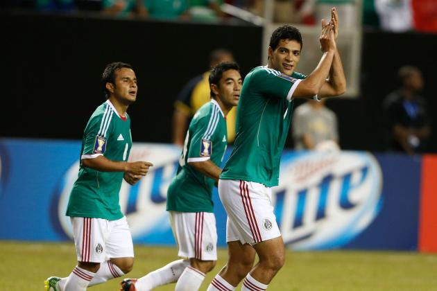 GIFs: Mexico Demolish New Zealand as They Close in on World Cup